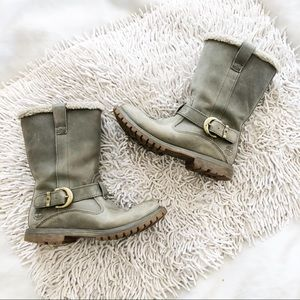 TIMBERLAND Nellie pull on boots gray 8W